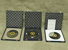 Lot 3 Dr Schenk gmbh MT136 Optical Disc Scanner Mirror Disk + Dishing Test Disk