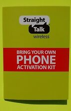 STRAIGHT TALK / AT&T STANDARD MICRO SIM CARD - BRING YOUR 4G LTE GSM PHONE