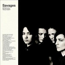 SAVAGES SILENCE YOURSELF LP NEW INCLUDES FREE DOWNLOAD