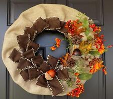 "22"" Wonderful  Unique Handmade Fall Wreath - Fall season!"