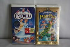 Walt Disney's Masterpiece Peter Pan 45th Anniversary and Cinderella