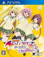 Used PS Vita To LOVE-RU Darkness: Battle Ecstasy  Free Shipping