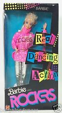 1986 BARBIE AND THE ROCKERS BARBIE REAL DANCING ACTION NRFB