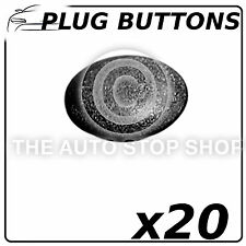 Boutons Plug fasteners 20,5 mm Renault avantime-master partie 742 20 Pack
