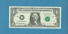 "1995 $1 Kansas City ""J"" star notes - Choice Uncirculated"