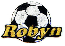 Custom Iron-on Soccer Patch Personalized