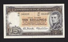 "1960-61 ND COMMONWEALTH OF AUSTRALIA ""TEN SHILLINGS"""
