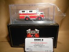 CODE 3 COLLECTABLES  FDNY MACK RESCUE 2     12554