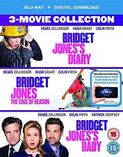 Bridget Jones 3 Bridget Jones's Diary/Edge Of Reason/Bridget Jones's Baby Bluray