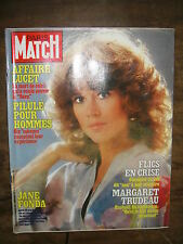 Paris Match N° 1712 19/3/1982 Jane Fonda Affaire Lucet Marie Helene Breillat