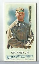2010 Topps Allen & Ginter Ken Griffey Jr. Mini Bazooka Back #212 MARINERS #/25
