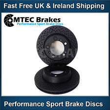 Porsche Boxster 987 3.2 S 05-12 Rear Brake Discs Mtec Black Edition