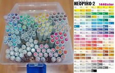 Deleter Marker Pen NEOPIKO-2  All Colors & Neopiko-Line-3, manga illustration