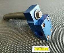 Old School BMX NOS Torker 4 Bolt (Prototype?) Stem/Neck Ano Blue