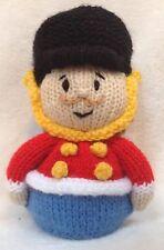 MODELO DE PUNTO - Navidad Cascanueces Soldado naranja funda or 17 cms toy