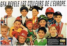 Publicité Advertising 1988 (2 pages) Pellicules photo AGFA