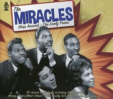 THE MIRACLES SHOP AROUND - THE EARLY YEARS - 2 CD BOX SET - YOUR LOVE & MORE