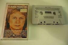 CLAUDE FRANCOIS ALBUM SOUVENIR VU SUR ANTENNE 2 A CHAMPS ELYSEES K7 AUDIO TAPE