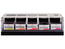 Talens Ecoline Liquid Watercolour Concentrated Ink Set 10 x 30ml