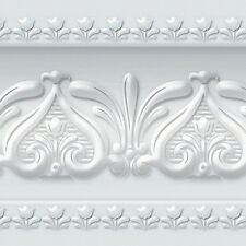 Silver Wallpaper Border Roll Scroll Molding Moulding Home Depot Interior Ideas