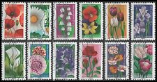 France 4157-4168 Flowers  [12 USED Stamps] Issued 2012