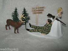 deer hunter wedding cake topper wedding ebay 13442