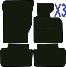 Tailored Deluxe Quality Car Mats Bmw X3 2004-2011 ** Black **