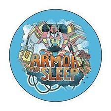 ARMOR FOR SLEEP 1-inch BADGE Button Pin Transformer Blue Logo NEW OFFICIAL MERCH