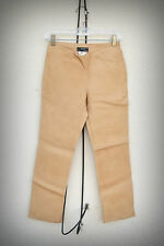 JOSEPH Leather Pants Very Soft Leather Tan Size Extra Small-Small (Short Height)