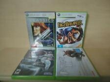 XBOX 360 - 4 VIDEO GAMES - FACEBREAKER, BAYONETTA. FABLE II, PERFECT DARK ZERO