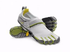Vibram Fivefingers M345 Bikila Barefoot Running Shoes Light Gray/Palm Sz 45 (12)