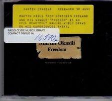 (BF942) Martin Okasili, Freedom - 1997 DJ CD