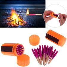 Emergency Survival Kit Proof Windproof Portable Matches Fit Camping Hiking New