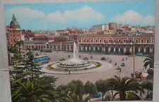 BARI STAZIONE CENTRALE 1965 PANORAMA VEDUTA Vecchia foto cartolina fotografia