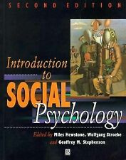 Introduction to Social Psychology: A European Perspective