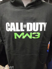 Licensed Mens Call of Duty MW3 Modern Warfare 3 Black Hoodie New L