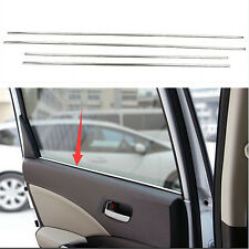 Stainless steel door window Trim 4PCS For Honda CRV CR-V 2012 2013 2014 2015