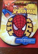 1 iron on patch spiderman