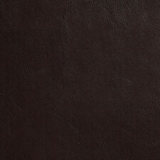 G635 Dark Brown Small Leather Grain Upholstery Recycled Leather By The Yard