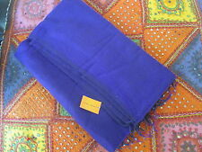 Warm soft large PURPLE shawl wrap from India. Great gift!.