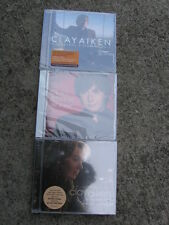 Lot of 3 CLAY AIKEN CDs: On My Way Here, ALL IS WELL, A Thousand Different Ways