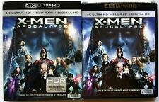 MARVEL X-MEN APOCALYPSE 4K ULTRA HD UHD BLU RAY 2 DISC SET + SLIPCOVER SLEEVE