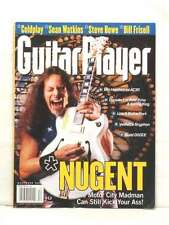 GUITAR PLAYER MAGAZINE TED NUGENT COLDPLAY BILL FRISELL STEVE HOWE SEAN WAT