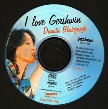 Polish Jazz JFR-010 - DANUTA BLAZEJCZYK - I LOVE GERSHWIN - Female scat