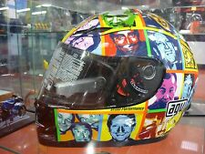 CASCO AGV GP-TECH VALENTINO ROSSI FACES LIMITED EDITION L AGV HELMET