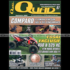 QUAD PASSION N°87 LIGIER BE FOUR 50 HR TRITON BAJA 300 MONNIER MR 400 KTM 525 XC