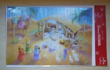 Hallmark DaySpring Jesus is Born advent calendar card, XCV1006 nativity, puzzles