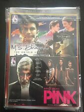 DVD M.S.DHONI & Pink  Hindi Movie 2 In 1 Bolly Wood movie