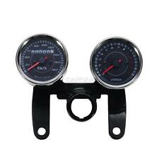 Motorcycle Dual Speedometer & Tachometer Kit For Kawasaki EN Vulcan 450 500 LTD