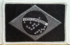 BRAZIL Flag Patch With VELCRO® Brand Fastener Military Police B & G Emblem #2